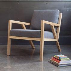 Truss Chair | Vintage Smoke & Natural Ash