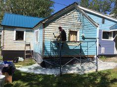 Little Blue House: Painting Pics!