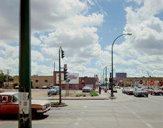 Stephen Shore, Victoria Avenue and Albert Street, Regina, Saskatchewan, August 17, 1974