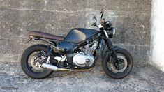 Resultado de imagen de suzuki gs 500 café racer Gs500, Cafe Racer, Motorcycle, Vehicles, Image, Motorbikes, Biking, Motorcycles, Vehicle