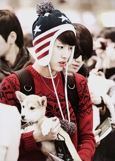 Sungyeol - Infinite can u not plz and a puppy