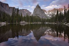 Mirror Lake & Lone Eagle Peak - Indian Peaks Wilderness, Colorado