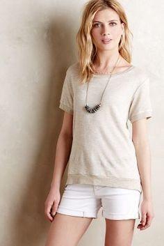 Puella High-Low Crossback Sweatshirt #anthrofave