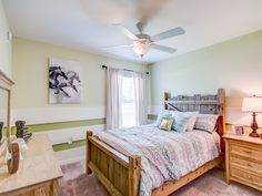 This ranch-style bedroom pulls equestrian inspired art, rustic wood accents, and a colorful palette together to make a creative abode! Highland Homes' Parker model home in Lake Alfred, Florida Cowgirl Bedroom, Creative Kids Rooms, Highland Homes, Bedroom Pictures, New House Plans, Wood Accents, Florida Home, Ranch Style, Model Homes