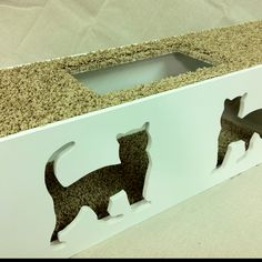 The latest white cat shelf (BigCat) with B3 carpet. Going out tomorrow for Mike.  Catwalkforkitty.us