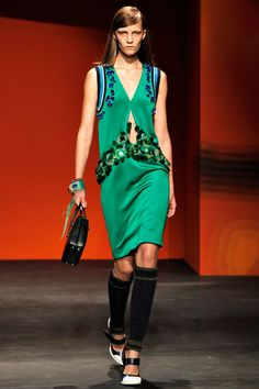 Prada Spring 2014 RTW - Review - Fashion Week - Runway, Fashion Shows and Collections - Vogue