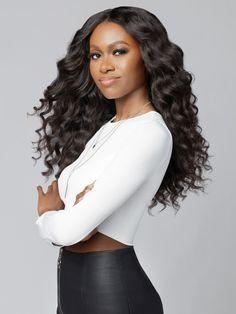 Best Human Hair Extensions, Tape In Hair Extensions, Wig Hairstyles, Straight Hairstyles, Everyday Hairstyles, Dark Purple Hair Color, Best Virgin Hair, Hair Bundle Deals, Virgin Hair Bundles