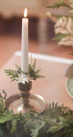 christmas candle idea could be adapted nicely for spring