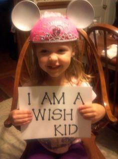 Make A Wish Foundation: I am a wish kid.  http://www.wish.org  #IAm  #FacesofWishes