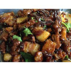 Thai sweet pork