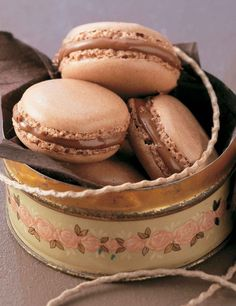 The only thing better than a macaroon is a Nutella macaroon... we suggest making two batches of these, because they go very quickly!