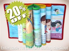 """LAST DAY to save 20% on Cover for My Bible Lessons Buy now: http://MinistryIdeaz.com/Bible-Lessons Enter code TWENTYOFF during checkout to save!   Now your youngster can """"chew away"""" at his special """"spiritual food"""" to his or her heart's content! Designed by caring parents, your child's Bible lessons will be protected from slobber and teeth.  Read more: http://MinistryIdeaz.com/Bible-Lessons"""