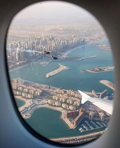 🏆 Control your account, control your data, get paid for your presence and those you invite. Discover Webtalk by clicking Airplane Photography, Travel Photography, Airplane Window View, Qatar National Day, Voyage Dubai, Places To Travel, Places To Visit, Dubai Cars, Best Airlines