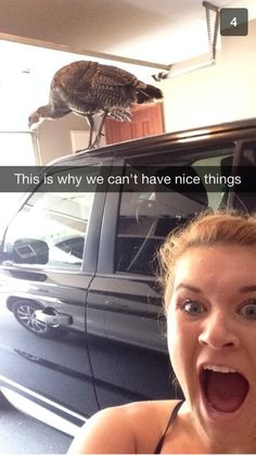 The birdwatcher. | 17 People Who Should Never Be Allowed To Use Snapchat Again