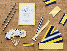 printable nautical baby shower designs for @Vicki Snyder Barn Kids
