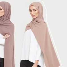 Premium hijabs; both durable and versatile. Antler Linen Blend Hijab Bark Linen Blend Hijab www.inayah.co