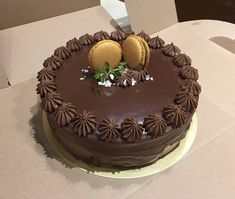 Happy Birthday, Birthday Cake, How To Make Cake, Chiffon, Cakes, Chocolate, Desserts, Happy Brithday, Silk Fabric