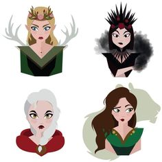 Aelin, Manon, Maeve, and Lysandra Throne Of Glass Characters, Throne Of Glass Fanart, Throne Of Glass Books, Throne Of Glass Series, Book Characters, Sarah Maas, Sarah J Maas Books, Celaena Sardothien, Aelin Ashryver Galathynius