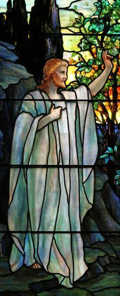 Tiffany, Resurrection and Noli Me Tangere, St. Johns Church, Franklin, PA❤️