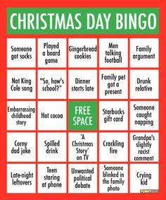 For Parents Only – Christmas Bingo | Dear Crazy Kids, |Christmas Bingo Questions Funny