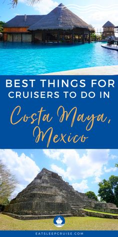 Are you dreaming of a cruise to the Western Caribbean once cruising resumes? If so, chances are that a stop in Costa Maya, Mexico will be on your itinerary. Here are the best tips for shore excursions at this port of call. There are a variety of things to do, from shopping, enjoying local cuisine, to diving & snorkeling. Whether you want to go on an off-roading adventure, explore ancient civilizations, to a family friendly waterpark. Check out this article and get ready to cruise again! Bermuda Vacations, Bahamas Vacation, Caribbean Vacations, Caribbean Cruise, Cruise Vacation, Cruise Excursions, Cruise Destinations, Shore Excursions, Amazing Destinations