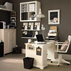 home office - Click image to find more hot Pinterest pins
