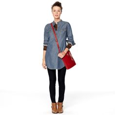 FOSSIL® Clothing Blouses:Clothing Denise Tunic WC8424