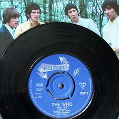 The Who - Happy Jack  #nowplaying a classic single by #thewho #happyjack b/w #ivebeenaway #reactionrecords #1966 #vinyl #45rpm #7inch #record #rock #mods produced by #kitlambert #todaysplays #petetownshend #rogerdaltrey #johnentwistle #keithmoon #vinylcollection by eddie_riff