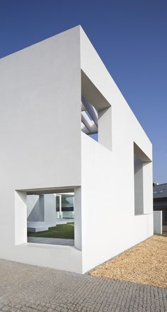 # WHITE SPIRAL # INTIMACY # PERSPECTIVES # PATIOS A69 ARCHITEKTI: www.a69.cz  The traditional scheme of a solitary house in a garden doesn't work any more. It divides a plot into the house and the rest. The rest is then called a garden and is the only filter between the space inside the house …