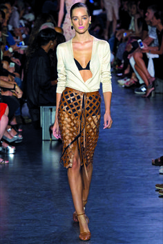 #Pasarela New York: Capital Fashion. Adelanto Primavera/Verano 2015. Joseph Altuzarra
