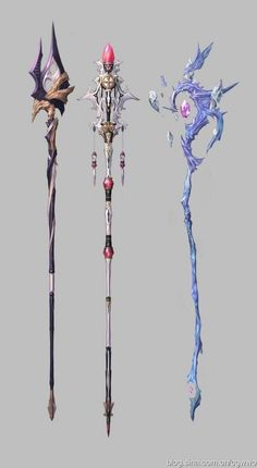 Naver Image Popup - Stuff to buy - Anime Weapons, Fantasy Weapons, Fantasy Jewelry, Fantasy Art, Fantasy Magician, Fantasy Drawings, Art Drawings, Armas Ninja, Sword Design