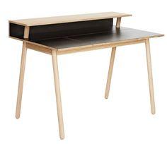 Copenhagen-based designer Isabel Ahm has designed a functional writing desk designed to blend into a living room.