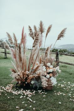 Photo from Dee + Dan collection by Ivy Road Photography Marie's Wedding, Boho Wedding Flowers, Boho Wedding Decorations, Flower Bouquet Wedding, Wedding Flower Arrangements, Wedding Trends, Floral Wedding, Wedding Colors, Floral Arrangement
