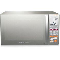 Microondas Ative! Função Smart Food 30L Inox - BMT45 - Brastemp