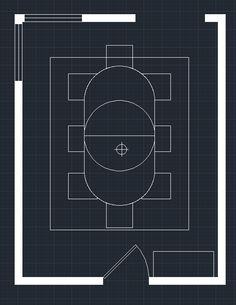 schematic dining room