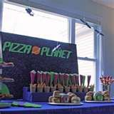 "Pizza Planet!!!! Found Liam's first birthday theme!!!! My little ""pizza planet"""