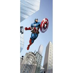 Marvel Avengers Captain America Door Poster - Great Kidsbedrooms Ltd