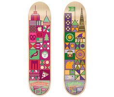 NYC and SF Organika Skateboards