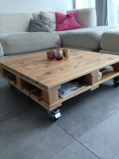 Hout & Co: Salontafel