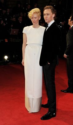 Swinton and Hiddleston. I do hope they're doing a film together. I would be mesmerized the entire time.