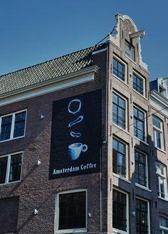 Amsterdam Coffee Coffee Talk, Amsterdam, Building, Buildings, Construction