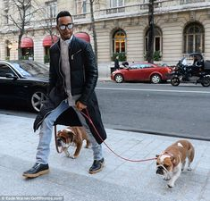 Lewis Hamilton takes his dogs Roscoe and Coco for a walk in Paris Hamilton Pictures, Watch F1, Why I Love Him, Lewis Hamilton, George Michael, Fat Cats, Sports Stars, Dogs Of The World, Formula One