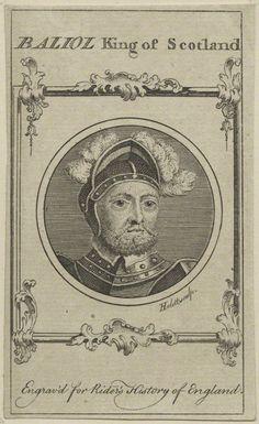 John de Balliol, King of Scots (circa 1248-1314), King of Scotland, reigned 1292-97 (National Portrait Gallery)