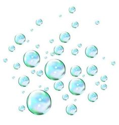 Bubbles Peel and Stick Wall decal - amazon