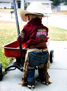 make your own baby or child-sized chaps | Mommy Blogs @ JustMommies
