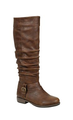 LOVE THESE.....Brown Scrunch Montana Boot