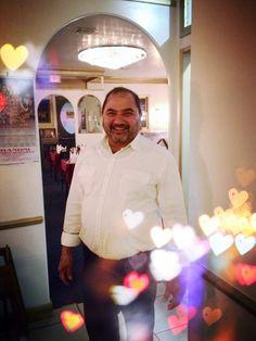 Photo of Chandni Vegetarian Restaurant - Santa Monica, CA, United States. Kumar loves Chandni's loyal patrons, and we love him. City By The Sea, Santa Monica, Chef Jackets, Vegetarian, United States, California, Restaurant, Diner Restaurant, Restaurants