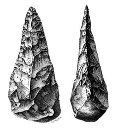 Flint Tools from the Mousterian or Middle Palaeolithic