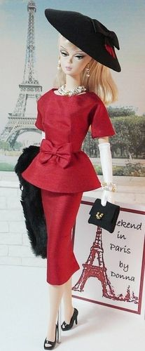Weekend in Paris...you've got to love Barbie!