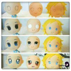 PAP olhinhos chibis ^•^ #Amooquefaço ~♡ #figures #Artes #Anime #biscuit #sculpture #coldporcelain #feitoamao #handmade #animeartwork #fanart #artistic #instaart #cute #kawaii #chibi #clay #pap #masaflexible #porcelanafria  #Arts #Animes  #KahMichaelis >>> https://www.facebook.com/KahMichaelisArtesAnimes